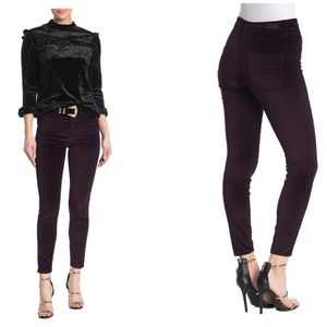 Blank NYC | NWT High Rise Velour Skinny Jeans